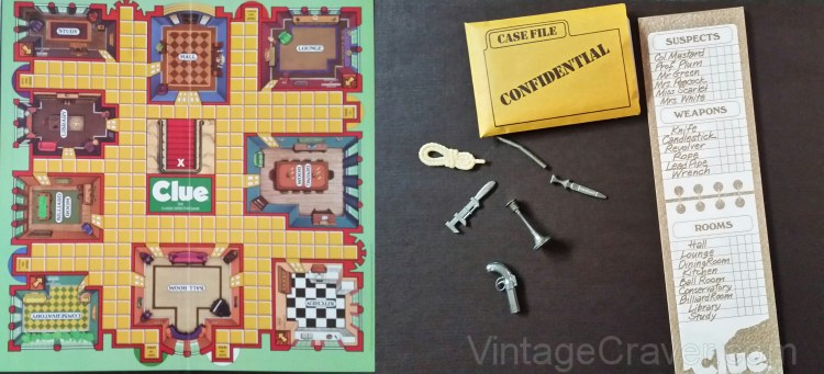 VintageCraverClueBoardgamePieces