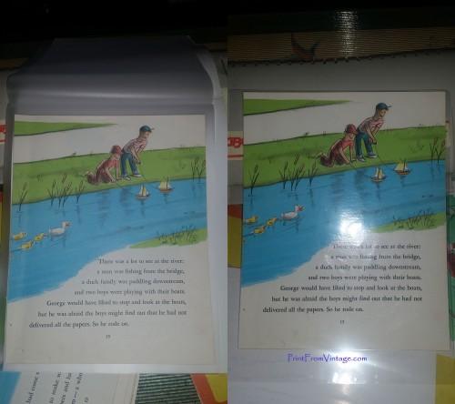 PrintFromVintageCuriousGeorgeLaminatedVintageBook13
