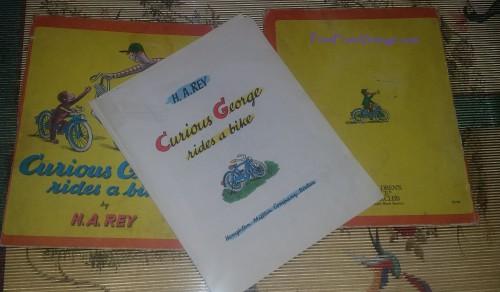 PrintFromVintageCuriousGeorgeLaminatedVintageBook8