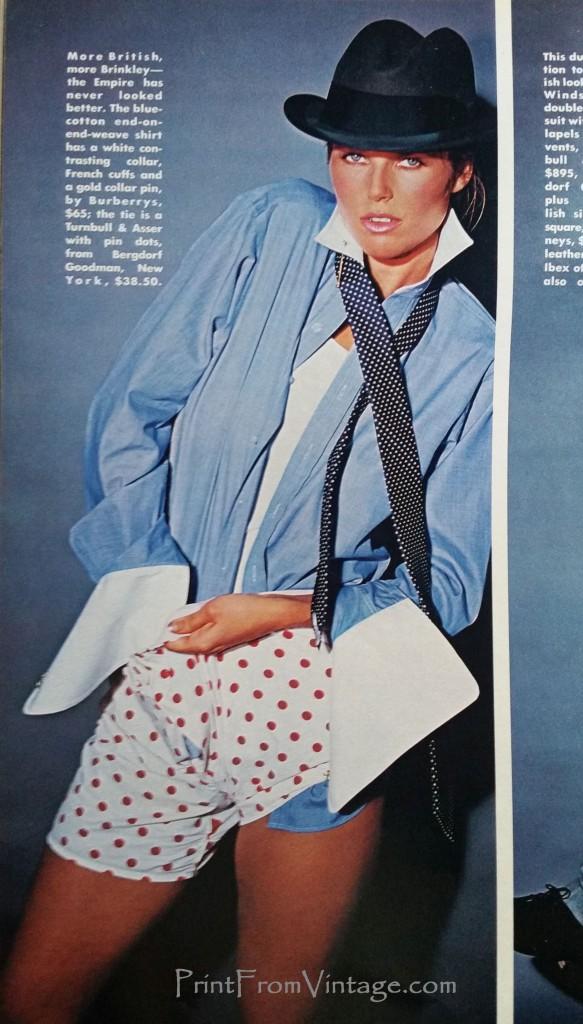 PrintFromVintagePlayboy1984ChristieBrinkley_DressingUp